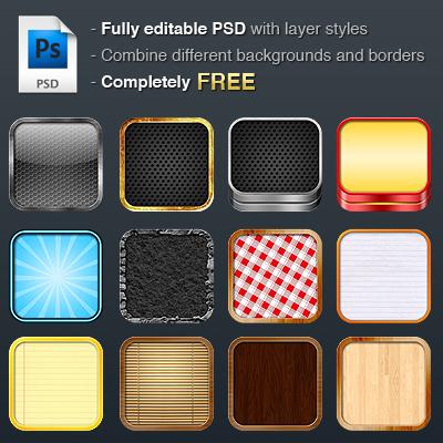 Free iOS DIY Retina icon pack