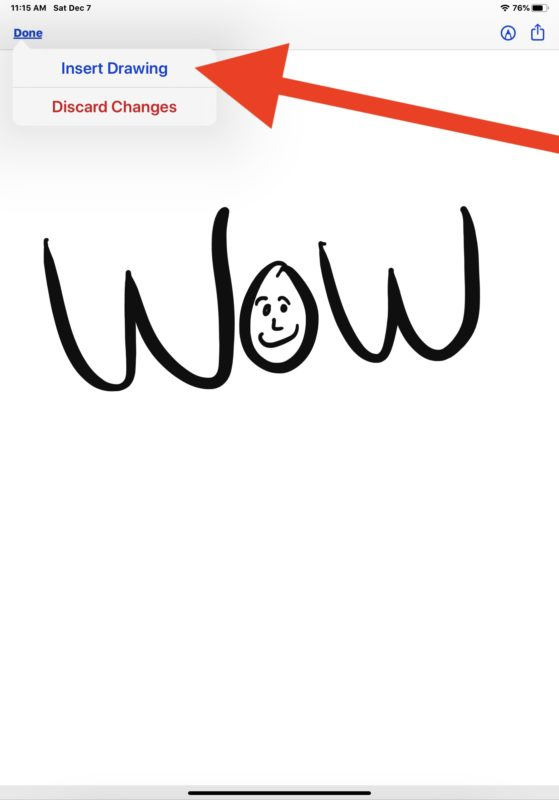 How to draw email on iPad or iPhone