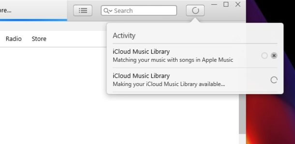 Enabling the ICloud music library on PC and Mac