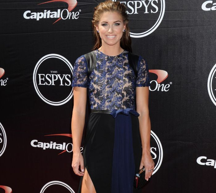 Alex Morgan - the most beautiful athletes in the world