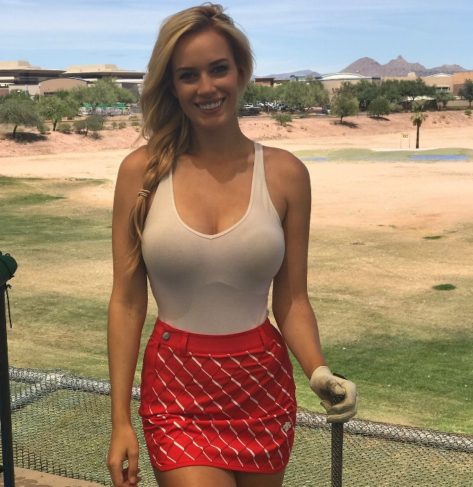 Paige Spiranac - the most beautiful sportswomen in the world