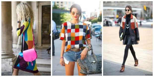 Patterned patchwork quilt - the best fashion trends for spring-summer