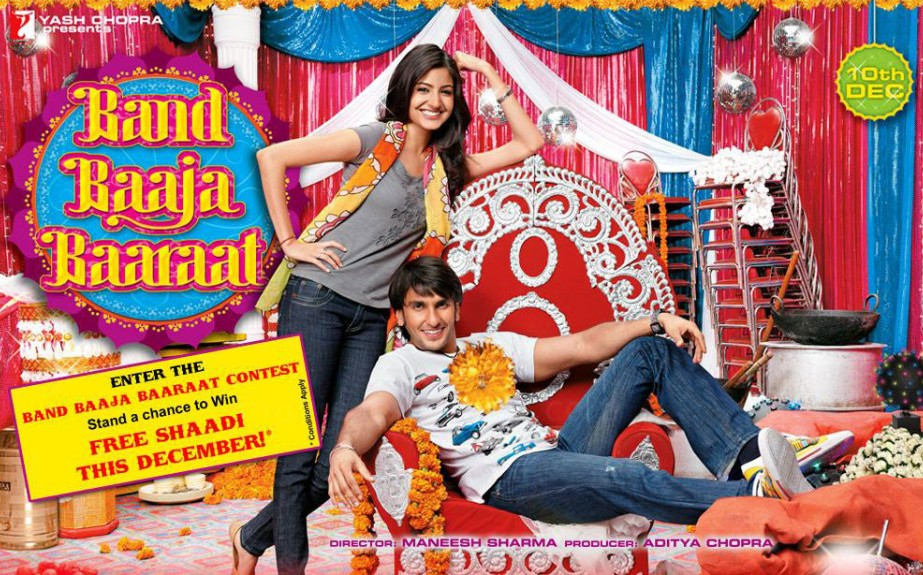 band baaja baraat - The most romantic Bollywood movies of all time