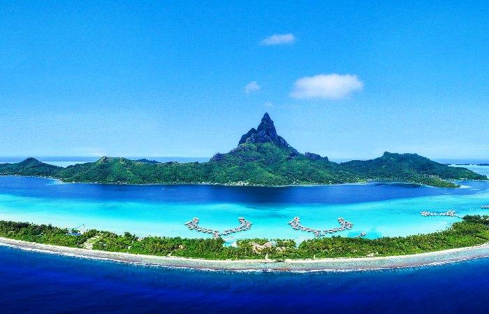 The best places to take photos in the world in French Polynesia (Bora Bora)
