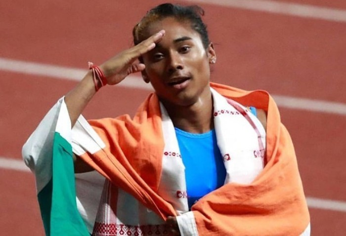 Hima Das - India's best complete role models for young people