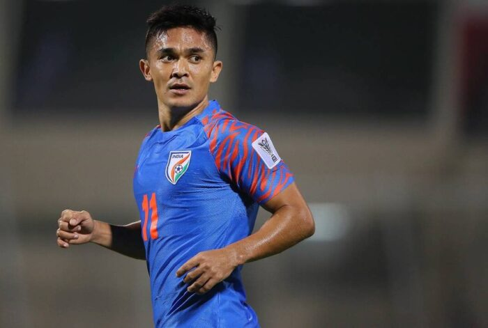 Sunil Chhetri - India's best complete role models for young people