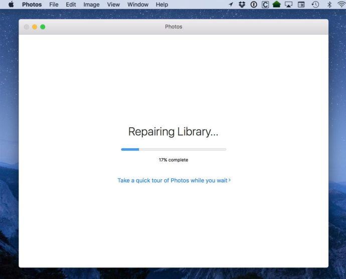 photo repair library progress
