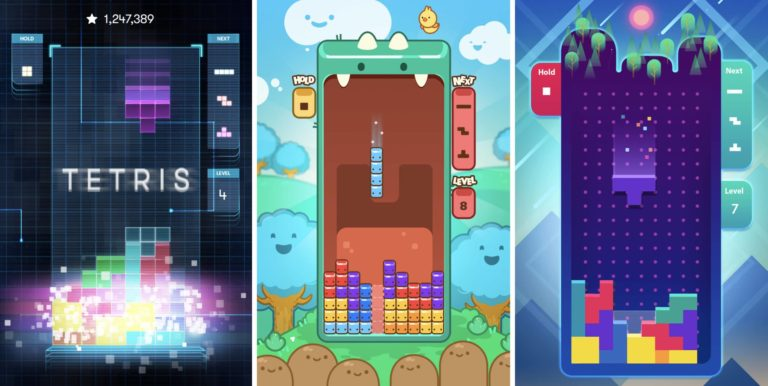 A brand-new Tetris game is aly out on iOS