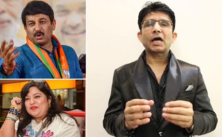 KRK compares Manoj Tiwari, who is contesting new elections in Delhi, with snatching eggs from Dolly Bindra in Bigg Boss!
