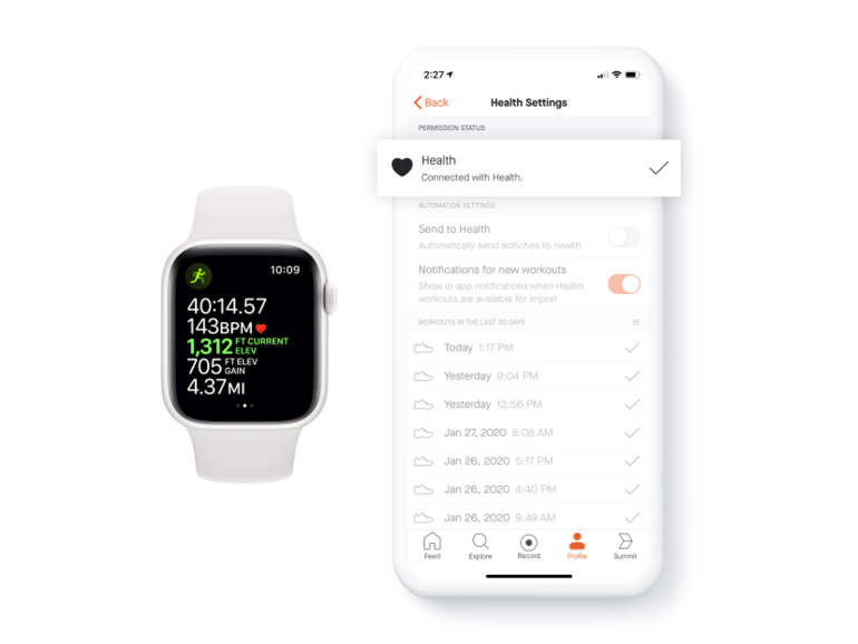 How to directly sync Apple Watch workouts to Strava