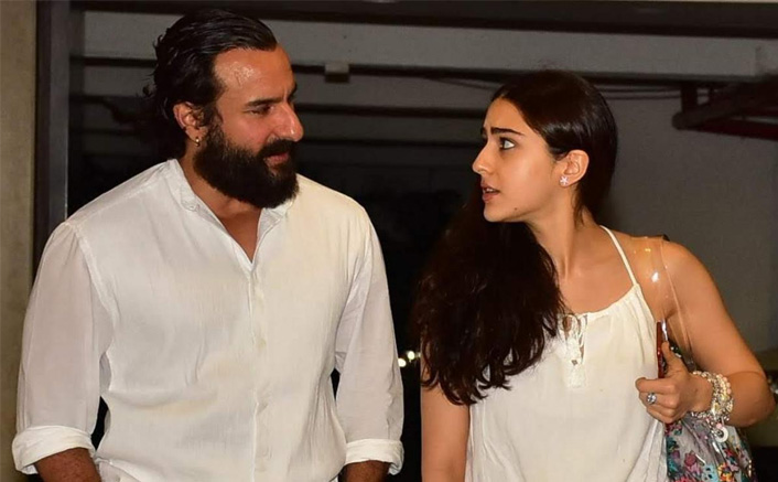 """Saif Ali Khan's reaction to the collaboration with daughter Sara for a film: """"We both want to avoid gimmicks"""""""
