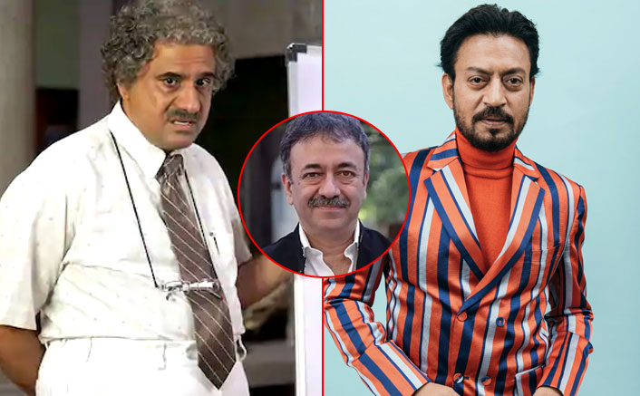 """3 idiots: When Boman Irani recommended the late Irrfan Khan for """"virus"""", Rajkumar Hirani rejected the proposal"""