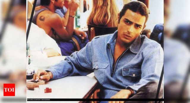 Check out Arjun's pic from modelling days
