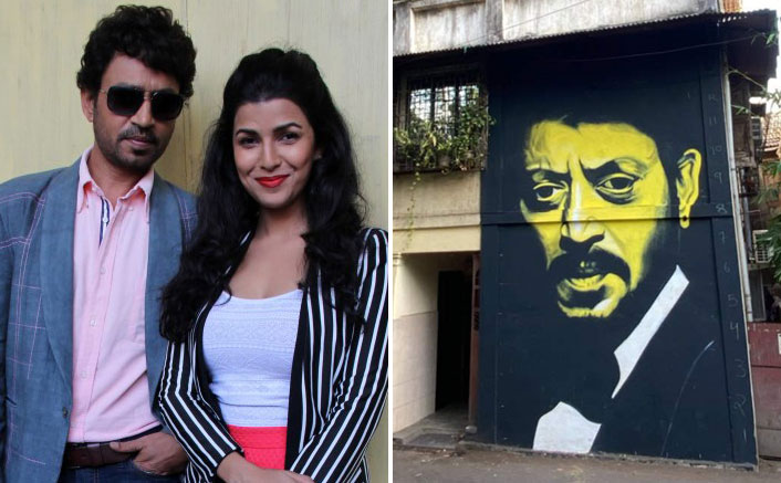 Fans celebrate the late Irrfan Khan with a mural, Nimrit Kaur becomes emotional after discovering it