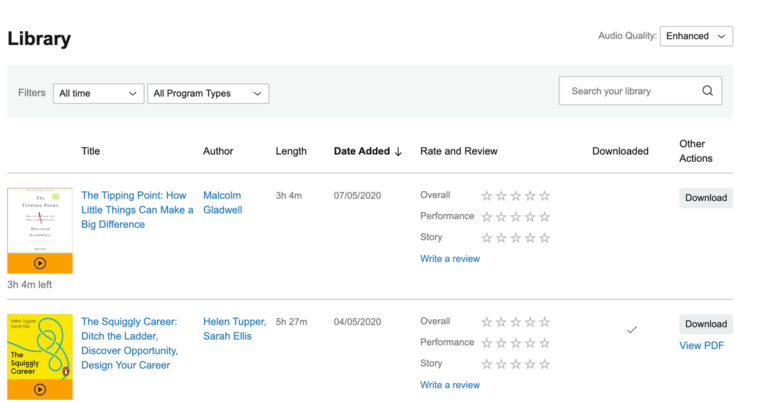 How to Listen to Audiobooks on Mac