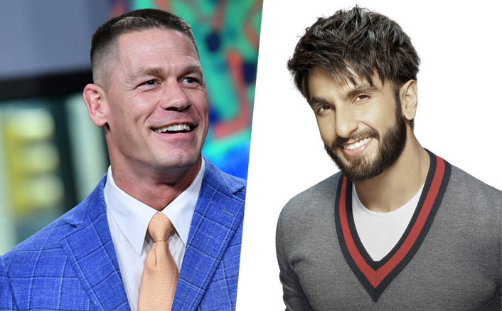 John Cena Photoshop's Ranveer Singh's picture with the WWE legend Stone Cold & The result is HILARIOUS!