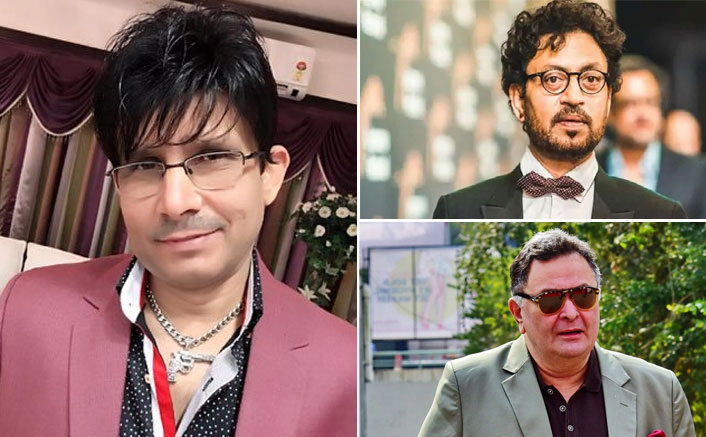 Kamaal R Khan AKA KRK In legal trouble! FIR filed for derogatory comments on Rishi Kapoor & Irrfan Khan's death