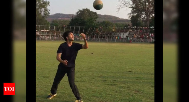 Rajkummar shows off his martial arts skills