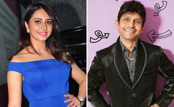 Rakul Preet Singh gives KRK a perfect answer when he asks if she's buying alcohol in the middle of Lockdown
