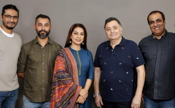 So the makers of Rishi Kapoor starrer Sharmaji Namkeen will end the shoot without the deceased actor