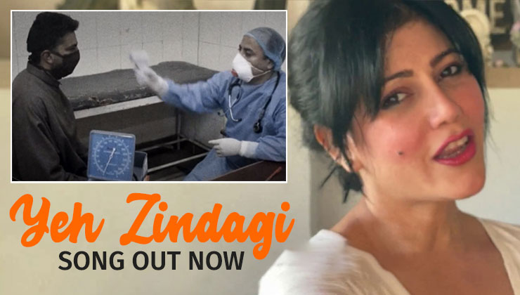 Yeh Zindagi Song: Warda Nadiadwala makes her singing debut thank frontline Covid-19 employees