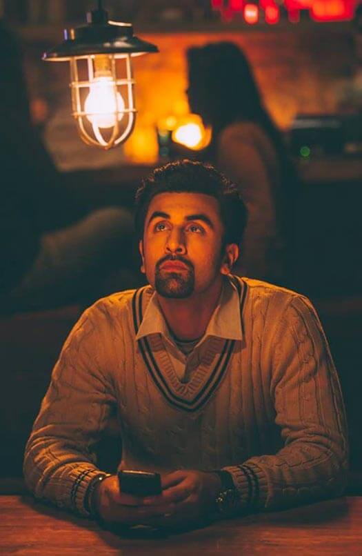 Ved was lost in his thoughts in a still image of Tamasha