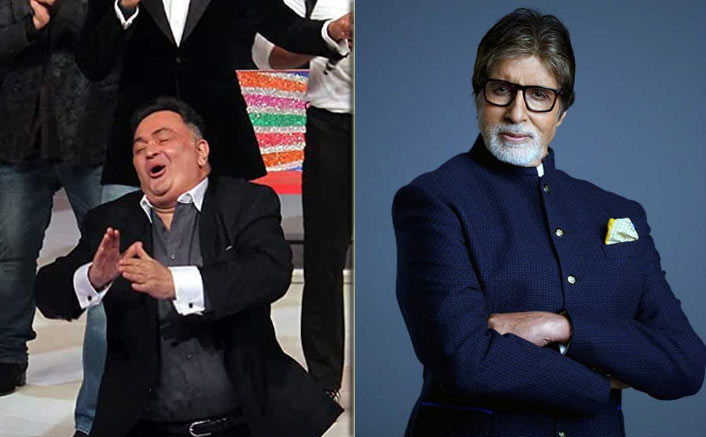 Amitabh Bachchan shows a living picture of the late Rishi Kapoor and it makes us emotional