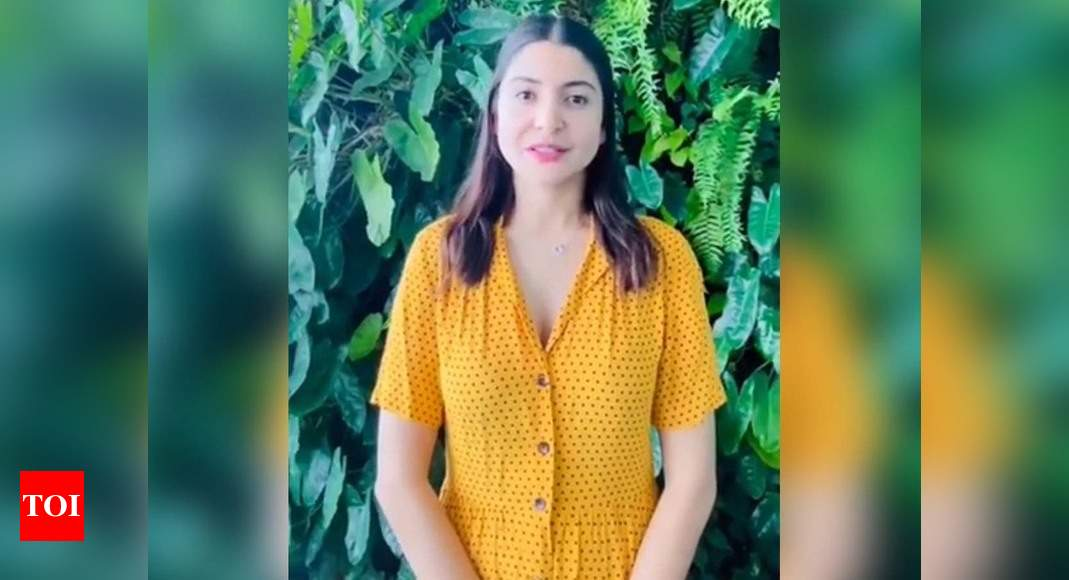 Anushka share a video, in order to combat climate change