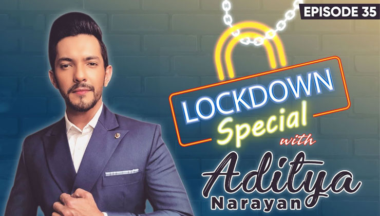 Aditya Narayan's Out-the Musical times Spent With the family During Coronavirus-Lockdown