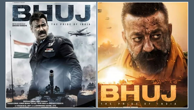 Bhuj First posters: Ajay Devgn and Sanjay Dutt look killer in this Patriotic war drama