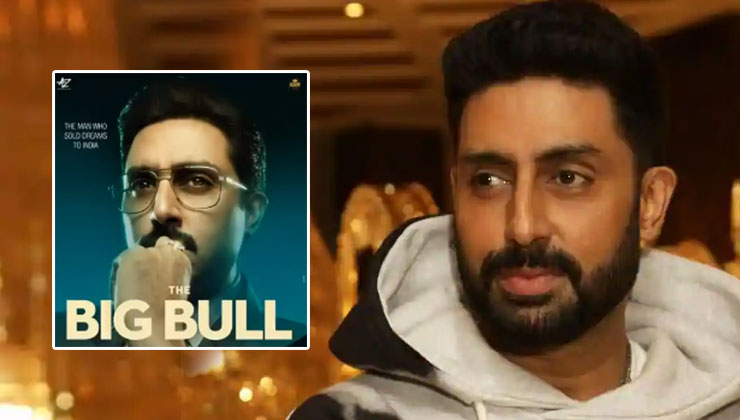 The Big Bull Poster From: Abhishek Bachchan looks smashing in the first glance of this rags-to-riches story