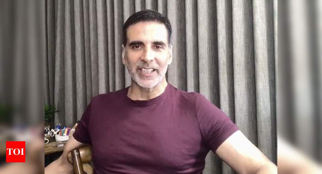 Cyclone Nisarg: Akshay posts a video on Twitter