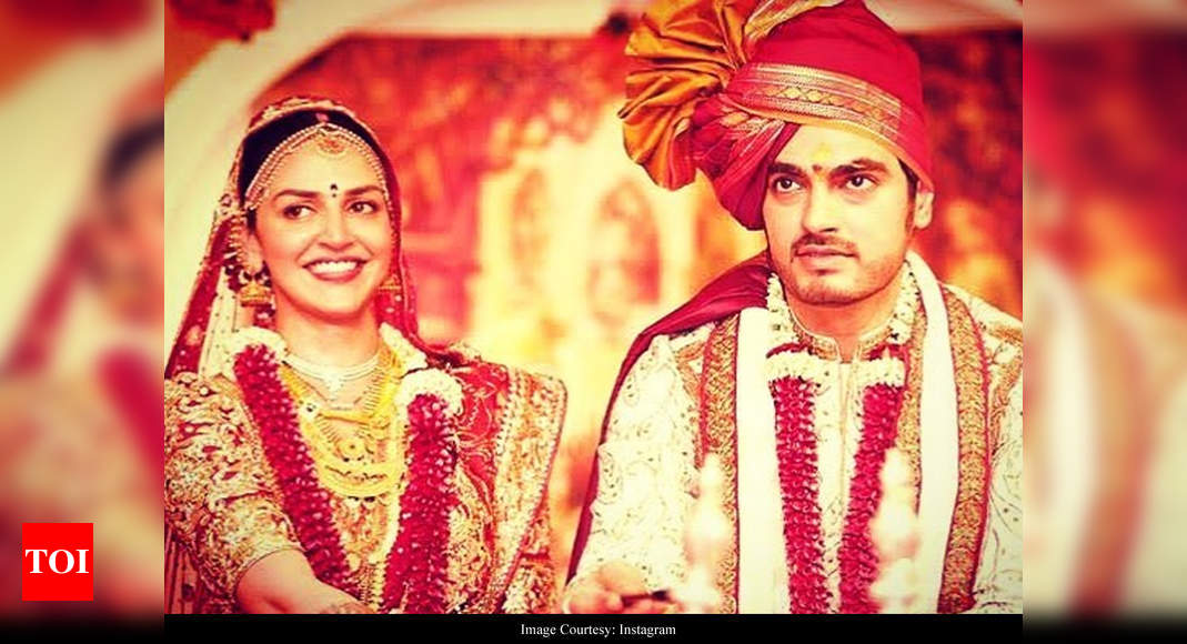 Esha Deol shares a pic on your anniversary