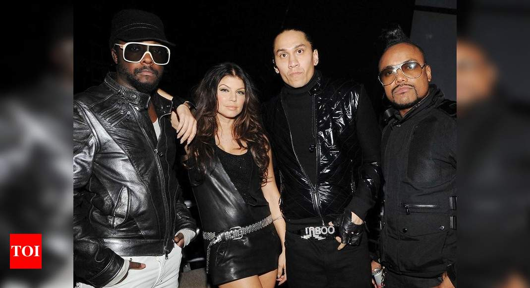 The Black Eyed Peas are back -- but where's Fergie?