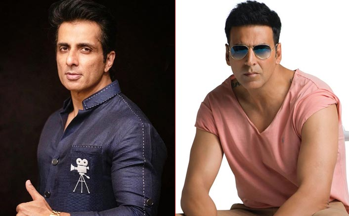 Internet users are demanding that Akshay Kumar & Sonu be honored with Bharat Ratna