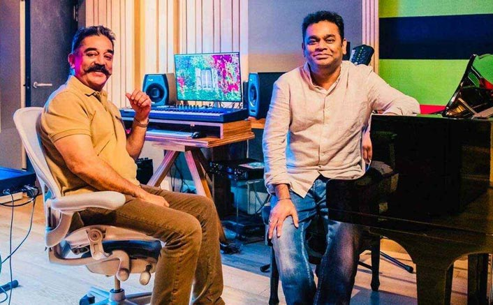 """Kamal Haasan: """"I started listening to AR Rahman's songs only after the world recognized him."""""""