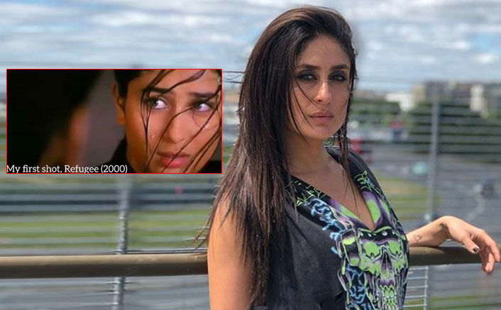 Kareena Kapoor Khan completes 20 years in Bollywood and shares her first shot