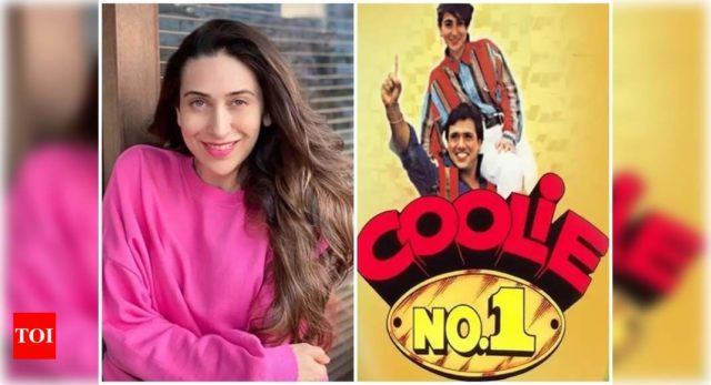 Karisma celebrates 25 years 'Coolie No 1'