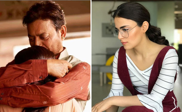 Radhika Madan publishes an emotional message for Irrfan Khan with her heart-warming picture
