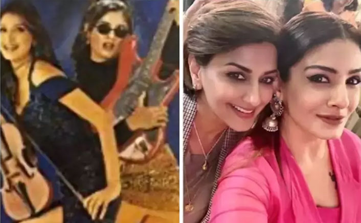 Raveena Tandon remembers the time Sonali Bendre spent with a throwback picture