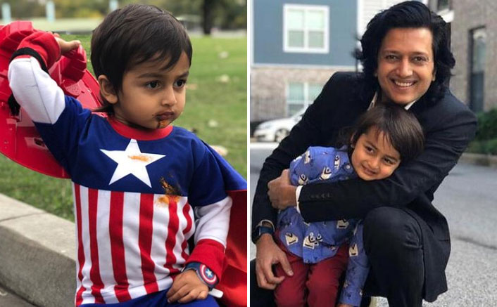 Riteish Deshmukh has an Avengers style birthday wish for his son Rahyl and calls him Captain America & Spider-Man