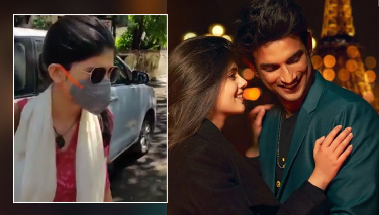 Sushant Singh Rajput suicide: actor Dil Bechara co-star Sanjana Sanghi records her statement with Mumbai police
