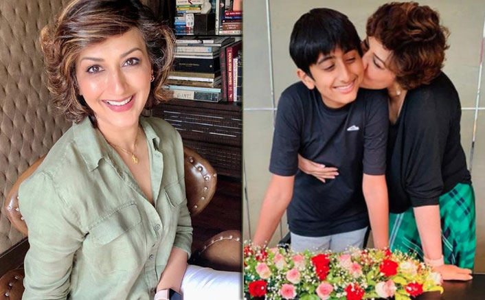 Sonali Bendre does not believe in being a friend of her son and for the right reasons