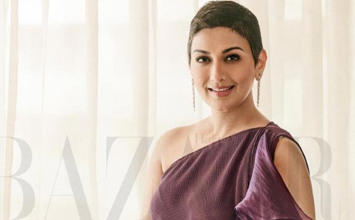 Sonali Bendre finds a ray of positivity amidst the chaos of the pandemic