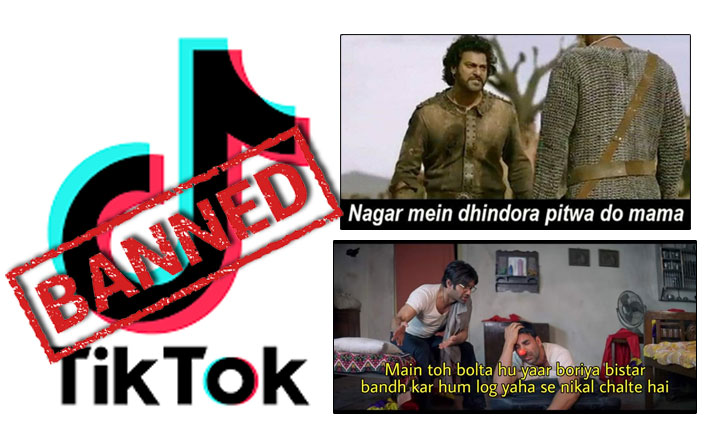 TikTok PROHIBITED BY THE GOVERNMENT: 59 Chinese apps get a red flag & THIS Hera Pheri, Baahubali memes break the Internet