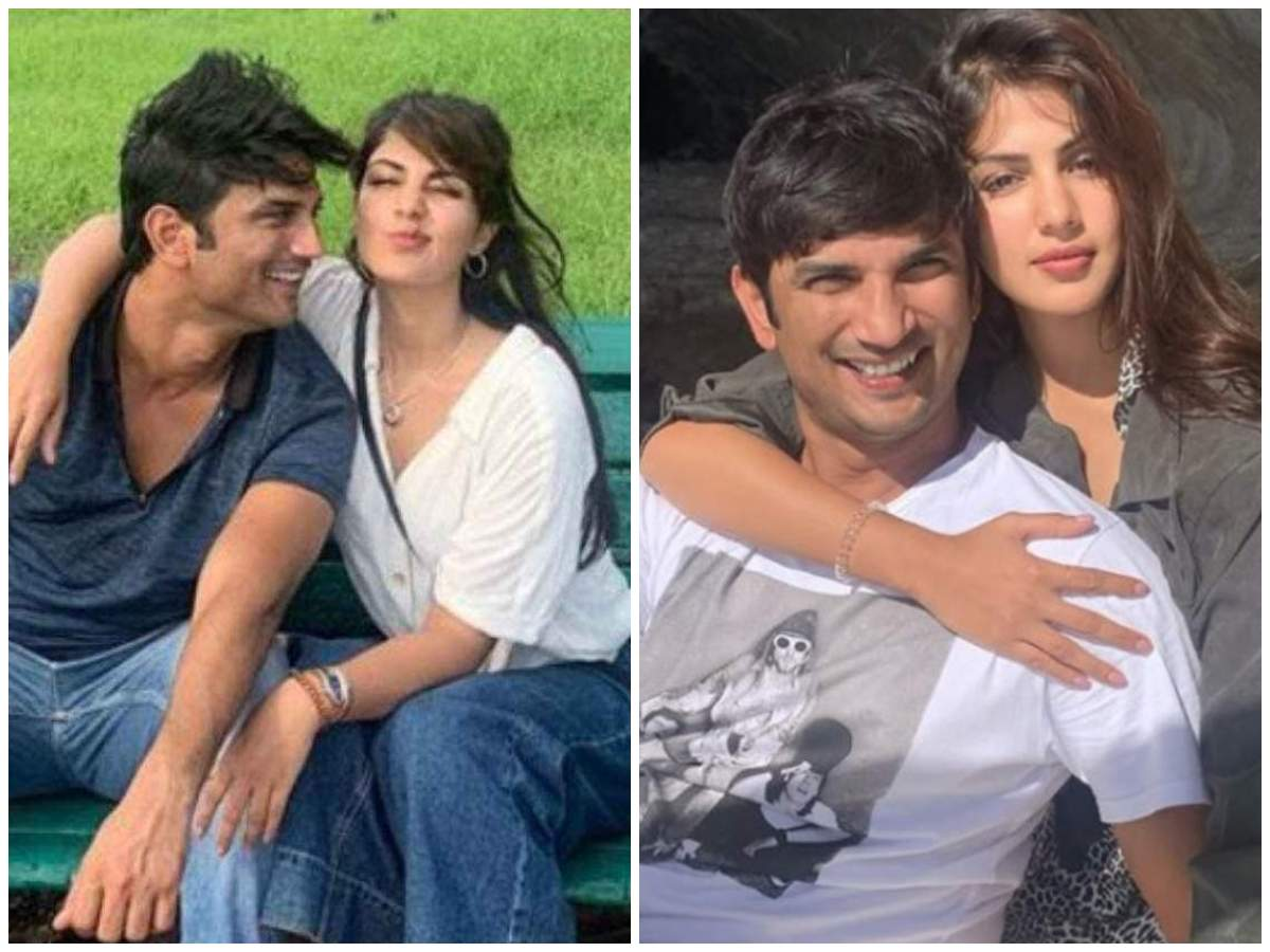 5 pictures of Rhea Chakraborty & SSR