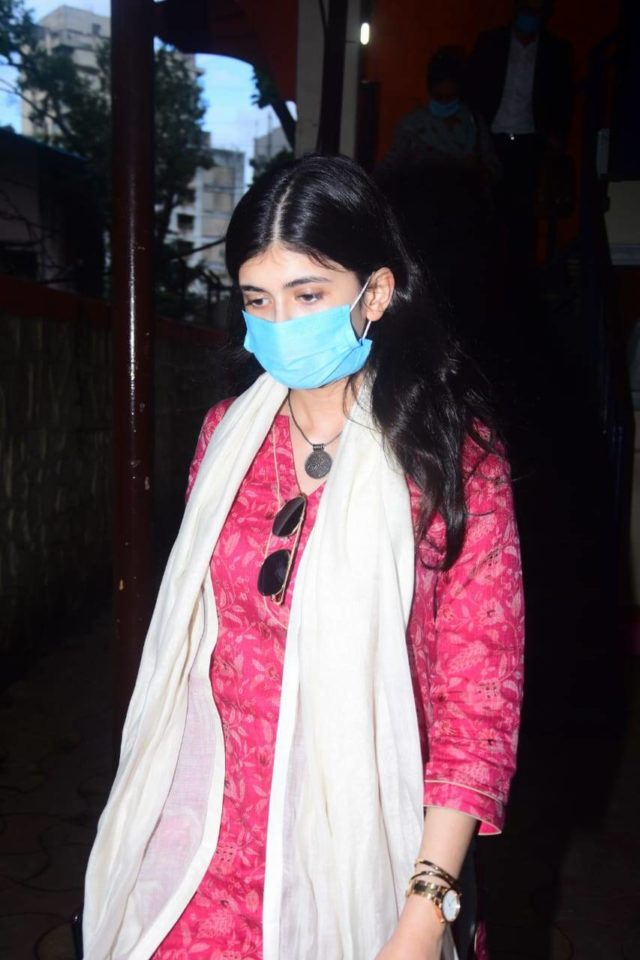 Sushant Singh Rajput suicide last updated: Sanjana Sanghi leaves the police station