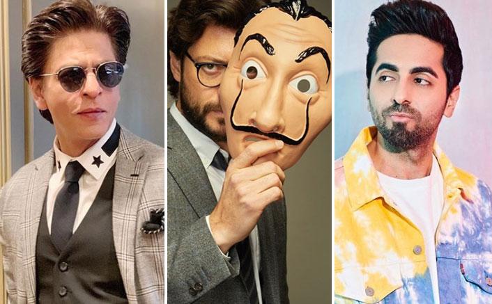 पैसे की चोरी: प्रोफेसर की भूमिका निभाने के लिए शाहरुख खान ने की बीटस आयुष्मान खुर्राना को ज्यादा से ज्यादा वोट!
