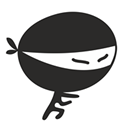 Ninja bookmark icon