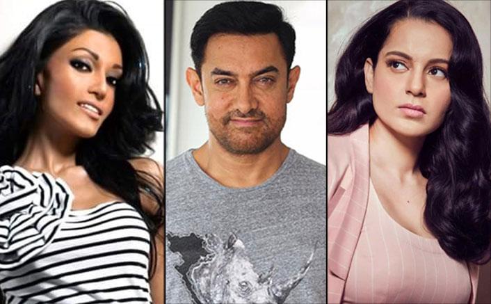 कोएना मित्रा, कंगना रनौत का समर्थन करती हैं और आमिर खान और अन्य बीवुड अभिनेताओं पर हमला करती हैं: